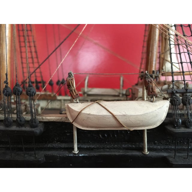 1940s Mid-Century Ship Model - Image 5 of 8