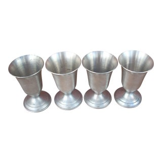 Pewter Cordial Cups - Set of 4