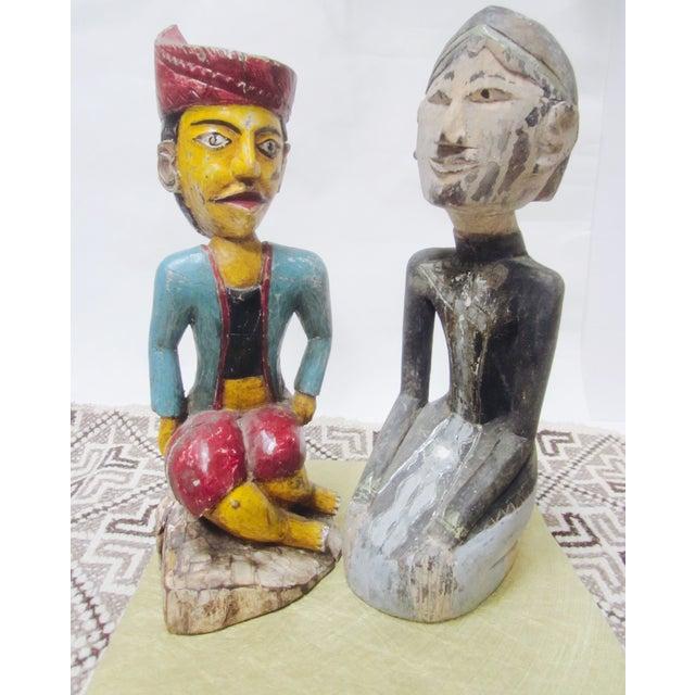 Global Boho Pair Statues - Pair - Image 5 of 9