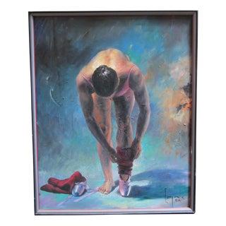 'La Ballerina II' Signed Original Painting by Dario Campanile