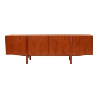 Ib Kofod-Larsen Beautifully Grained Teak Credenza