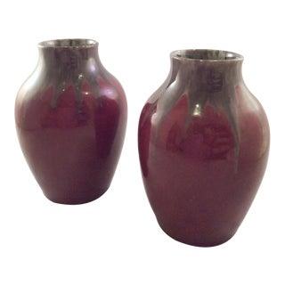 Arts & Crafts Studio Vases - A Pair