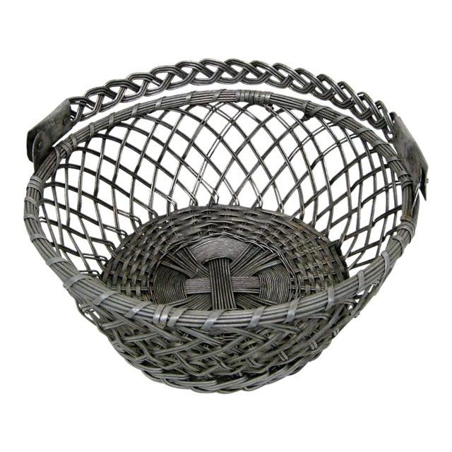 Vintage Tin Basket - Image 1 of 8