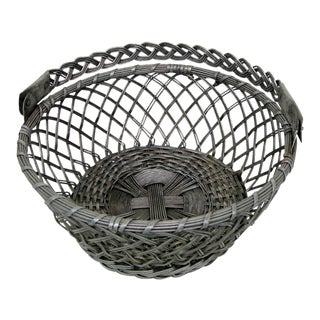 Vintage Tin Basket