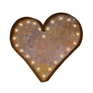 Heart Icon Marquee Light
