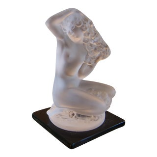 Small Lalique Female Figurine