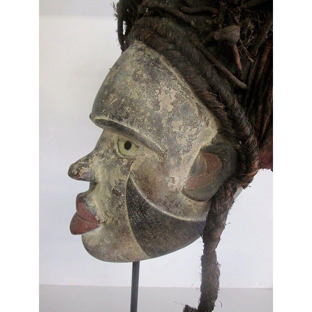 Antique Punu African Tribal Mask - Image 5 of 10