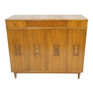 John Widdicomb Dresser with Pop-Up Vanity