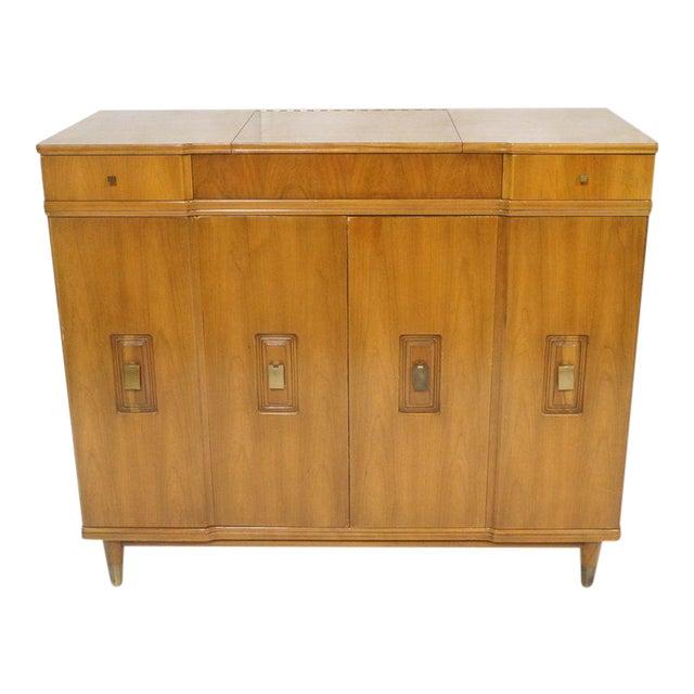 John Widdicomb Dresser With Pop Up Vanity Image 1 Of 6