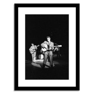 """""""Elvis Rehearsing,"""" Photo by Alfred Wertheimer"""