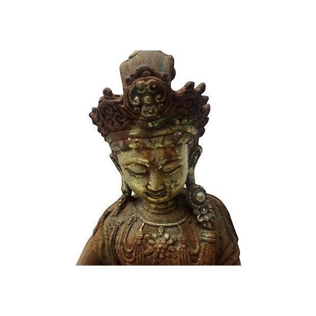 Antique Goddess, Quan Yin - Image 4 of 7