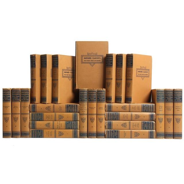 Tan & Navy Harvard Classics - Set of 25 - Image 1 of 3