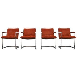 Milo Baughman for Thayer Coggin Armchairs - Set of 4