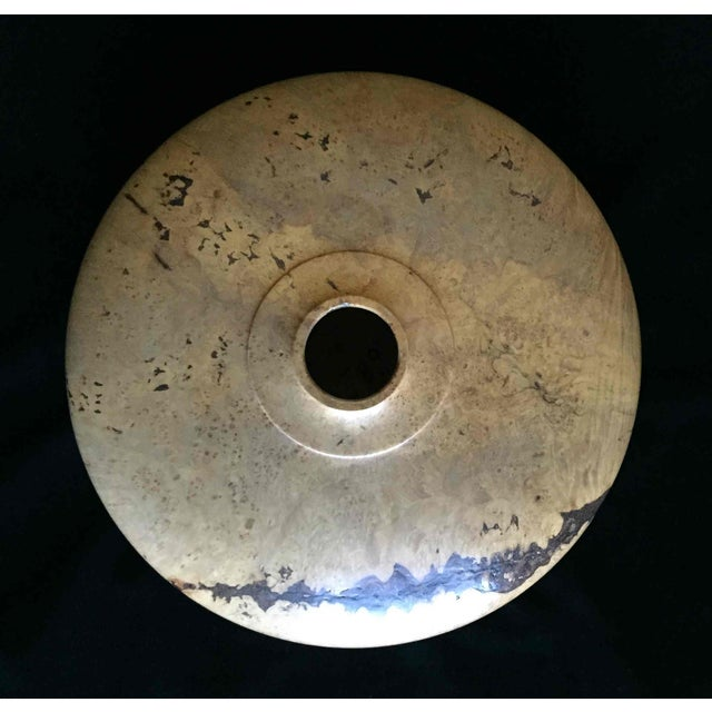 Image of Maple Burl Carved Bowl