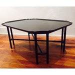 Image of Kittinger Black Lacquer Coffee Table