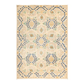 """Suzani Hand Knotted Area Rug - 5' 3"""" X 7' 7"""""""