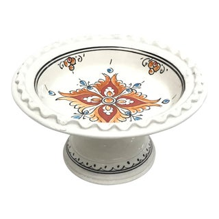Moroccan Small Ceramic Coupe Plate