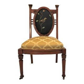19th Century Louis XVI Balloon Back Mahogany Chair