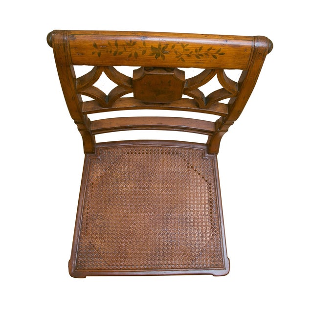 Image of French Wood Side Chair