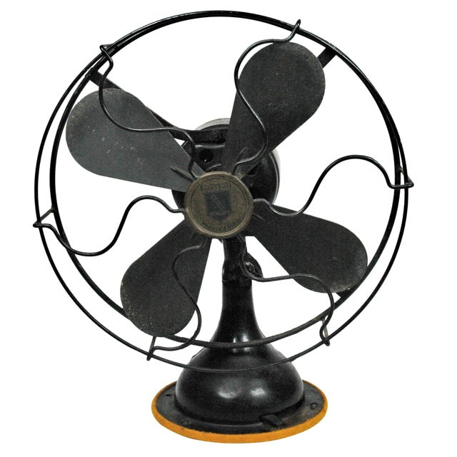 Antique Table Top Fan - Image 1 of 5