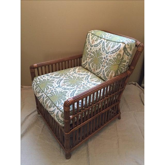 Modern Rattan Lounge Chair - Image 2 of 8