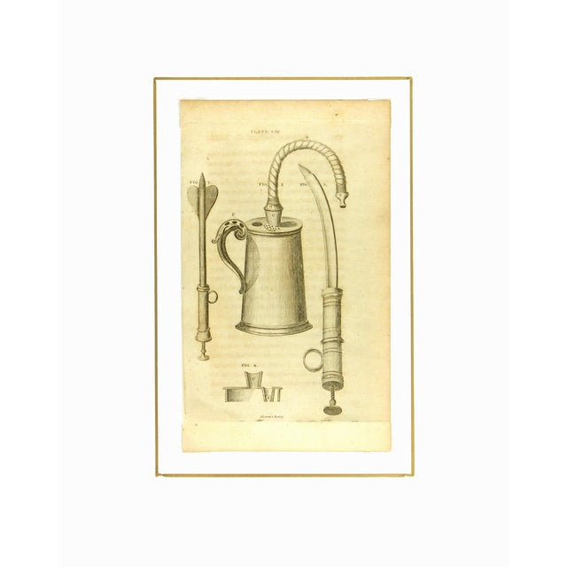 Image of Antique Engraving - Medical Instruments, 1789