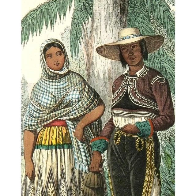 Original 1853 South America Engraving - Image 2 of 3