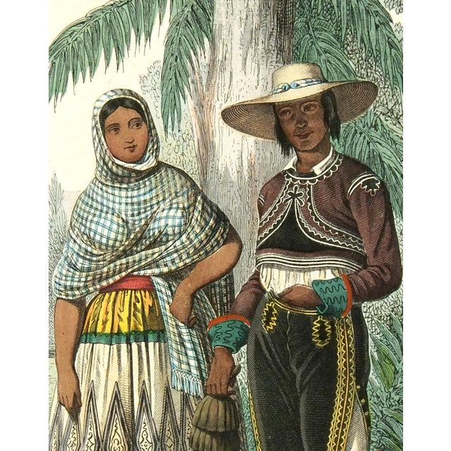 Image of Original 1853 South America Engraving