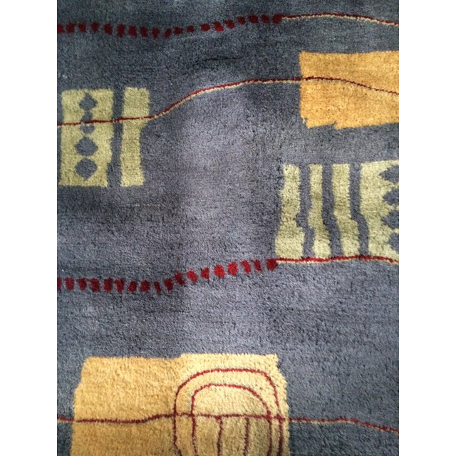Contemporary Wool Rug - 5' x 8' - Image 4 of 7