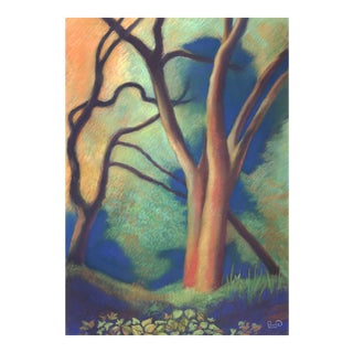 Trees by Path to Enlightenment Painting