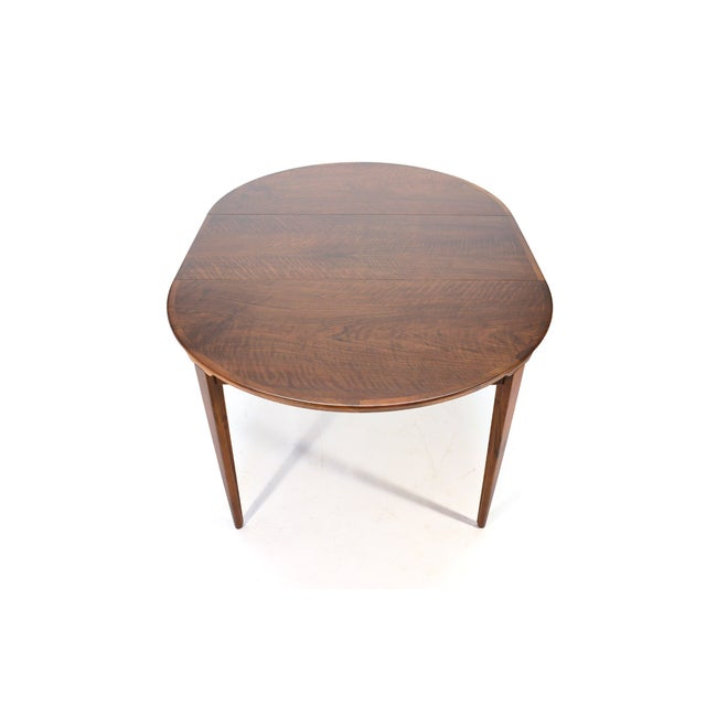 Rosengren Hansen Round Walnut Dining Table - Image 5 of 9
