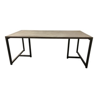 "HD Buttercup ""Rami"" Black Burnt Oak Dining Table From the Phillips Collection"