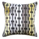 Image of Velvet Geometric Accent Pillows - A Pair