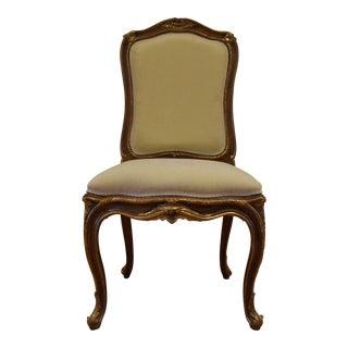 Hand Carved Italian Wood Chair