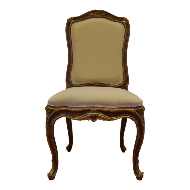 Hand Carved Italian Wood Chair - Image 1 of 9
