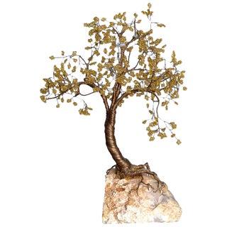 Handcrafted Tree Metal Sculpture Beads