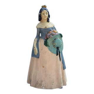 """Southern Belle"" Woman Cast Iron Doorstop"