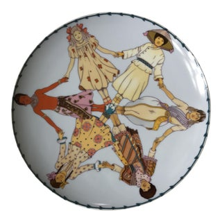 "Villeroy & Boch ""Year of the Child"" Wall Plate"