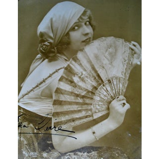 1920s Ina Claire Autographed Photo