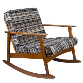 Danish Modern Style Rocking Chair