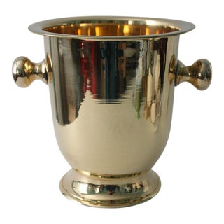 Solid Brass Champagne Bucket
