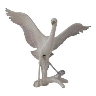 Ceramic Egret