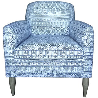 Kemp Club Chair in Sabrina Cerulean