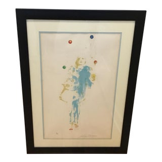 LeRoy Neiman, Pierrot, the Juggler Serigraph, 1972