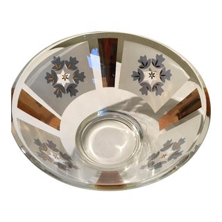 Mid-Century Culver Style Centerpiece Bowl