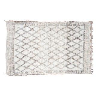 "Vintage Moroccan Carpet - 6'4"" x 10'"