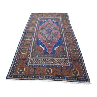 "Anatolian Handwoven Tribal Floor Rug - 57"" x 118"""