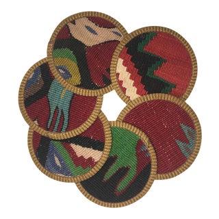 Kilim Coasters Set of 6 | Sanem