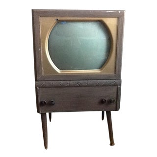 1950s Vintage Bubble Television Set