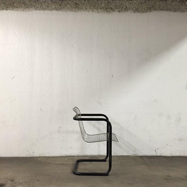 Modern Metal Industrial Chair - Image 3 of 6